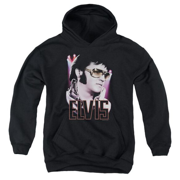 Elvis 70's Star Youth Pull Over Hoodie