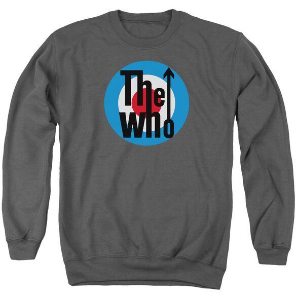 The Who Logo Adult Crewneck Sweatshirt