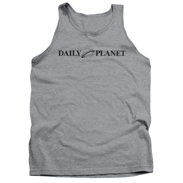 Superman Daily Planet Logo Adult Tank Athletic