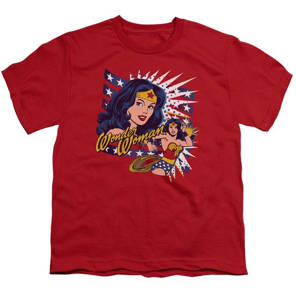 Dco Pop Art Wonder Short Sleeve Youth T-Shirt