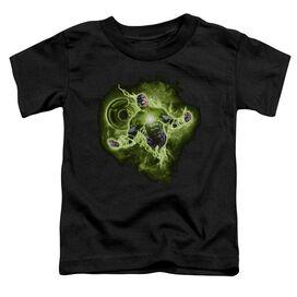 Green Lantern Lantern Nebula Short Sleeve Toddler Tee Black Sm T-Shirt