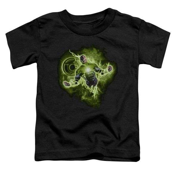 Green Lantern Lantern Nebula Short Sleeve Toddler Tee Black Sm T-Shirt