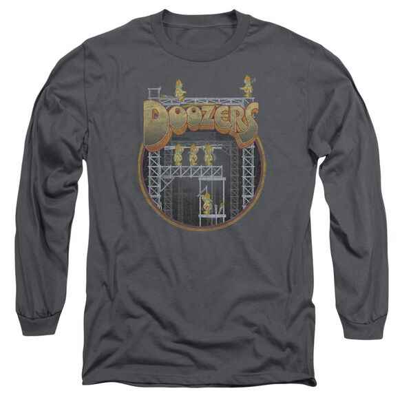 Fraggle Rock Doozers Construction Long Sleeve Adult T-Shirt