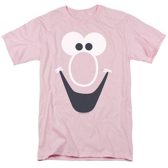 Mr Bubble Bubble Face Short Sleeve Adult T-Shirt