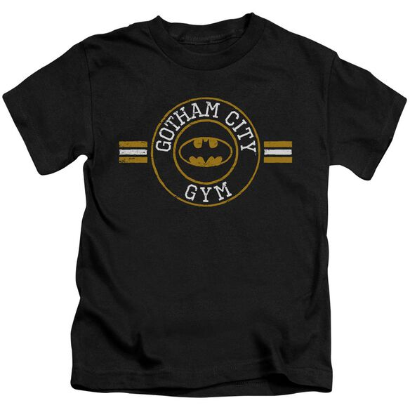 Batman Gotham City Gym Short Sleeve Juvenile Black T-Shirt