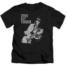 Stevie Ray Vaughan Live Alive Short Sleeve Juvenile Black T-Shirt