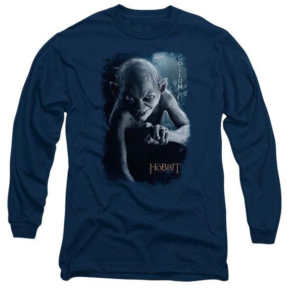 The Hobbit Gollum Poster Long Sleeve Adult T-Shirt
