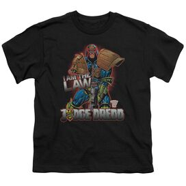 Judge Dredd Law Short Sleeve Youth T-Shirt