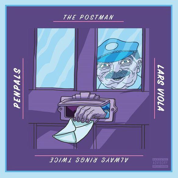 Penpals/ Lars Viola - The Postman Always Rings Twice (Blue Vinyl)