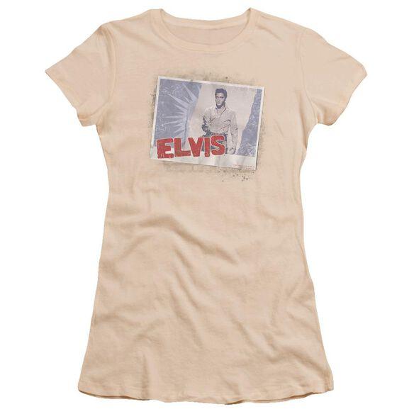 Elvis Tough Guy Poster Premium Bella Junior Sheer Jersey