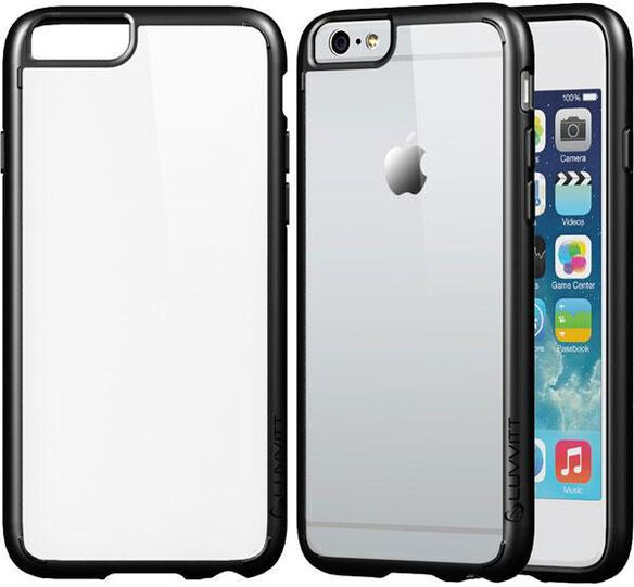 Luvvitt ClearView Hybrid Apple iPhone 6/6s Phone Back Cover