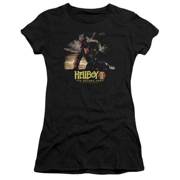Hellboy Ii Poster Art Premium Bella Junior Sheer Jersey