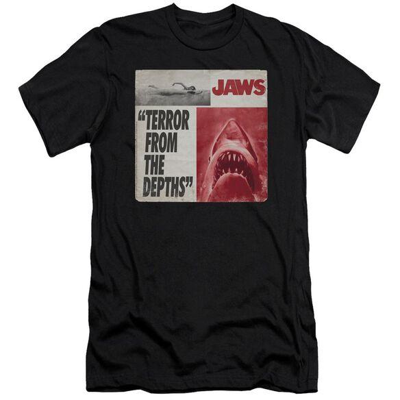 Jaws Terror Premuim Canvas Adult Slim Fit