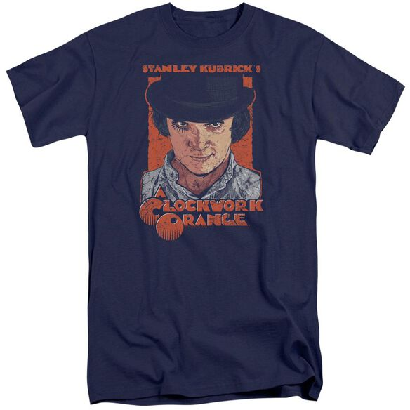A Clockwork Orange Sinister Stare Short Sleeve Adult Tall T-Shirt