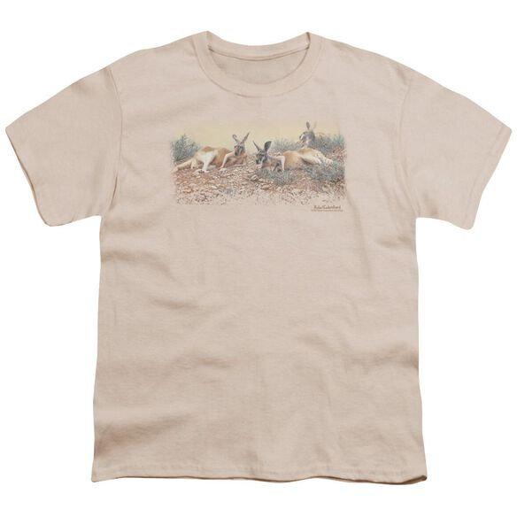 Wildlife Laid Back In The Outback Short Sleeve Youth T-Shirt