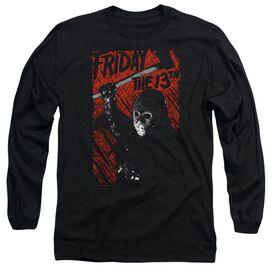 3eb564990 Friday The 13 Th Jason Lives Long Sleeve Adult T-Shirt