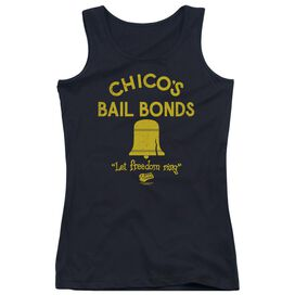 Bad News Bears Chicos Bail Bonds - Juniors Tank Top - Black