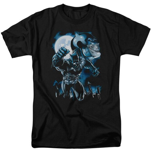 Batman Moonlight Bat Short Sleeve Adult T-Shirt
