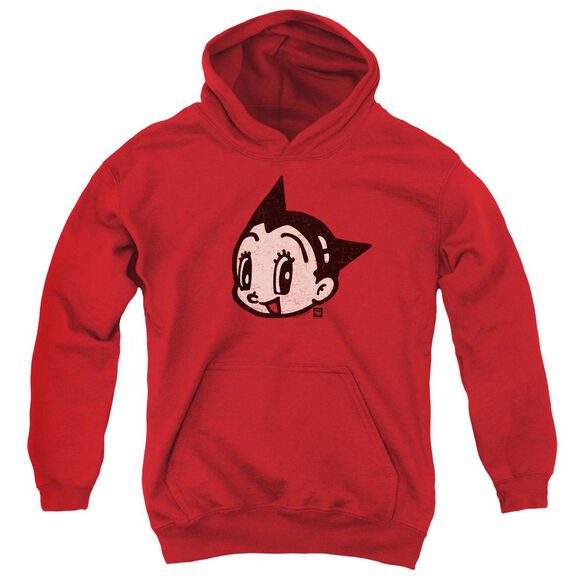 Astro Boy Face Youth Pull Over Hoodie