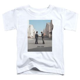 Pink Floyd Wish You Were Here Short Sleeve Toddler Tee White T-Shirt