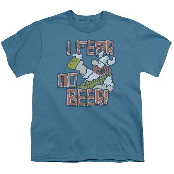 Hagar The Horrible I Fear No Beer Short Sleeve Youth T-Shirt