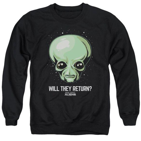 Ancient Aliens Will They Return Adult Crewneck Sweatshirt