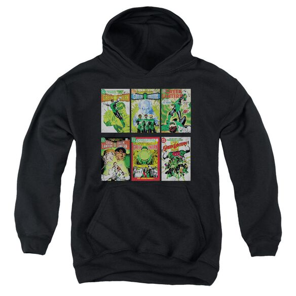 Green Lantern Gl Covers Youth Pull Over Hoodie