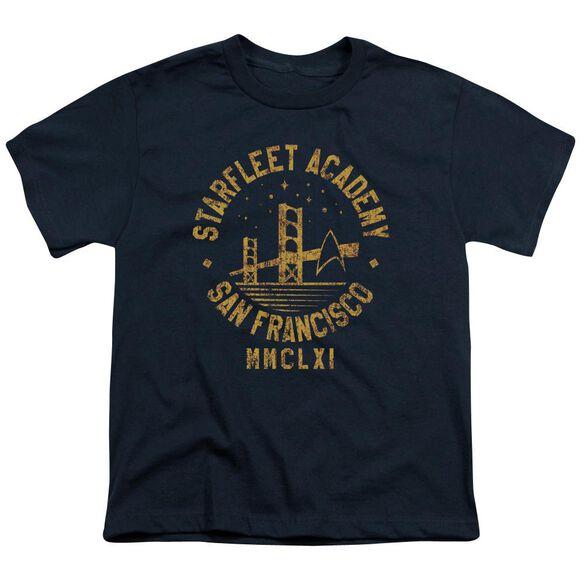 Star Trek Collegiate Bridge Short Sleeve Youth T-Shirt