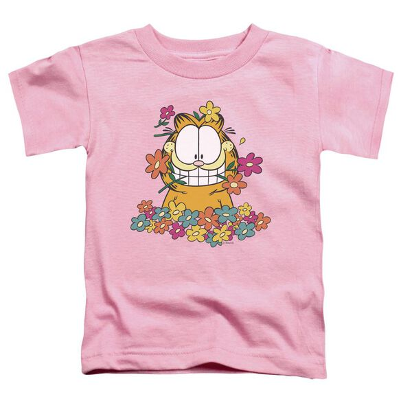 GARFIELD IN THE GARDEN-S/S T-Shirt