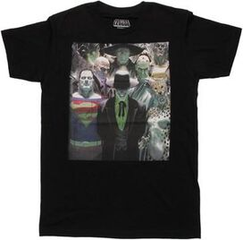 Justice League Alex Ross Villains T-Shirt Sheer