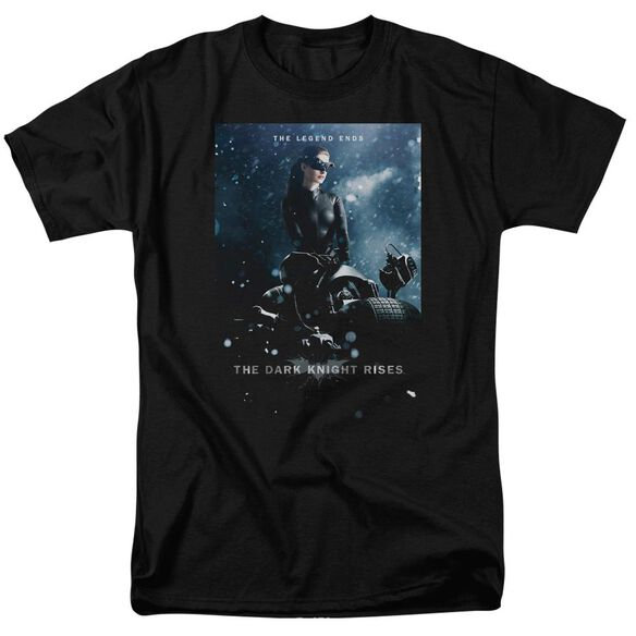 Dark Knight Rises Catwoman Poster Short Sleeve Adult T-Shirt