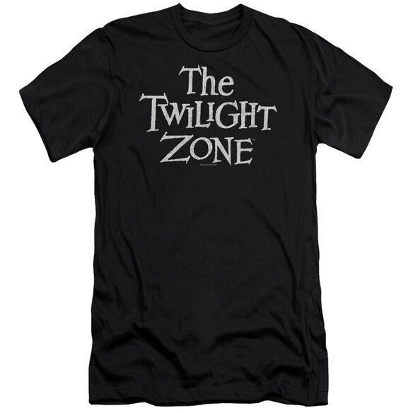 Twilight Zone Logo Premuim Canvas Adult Slim Fit