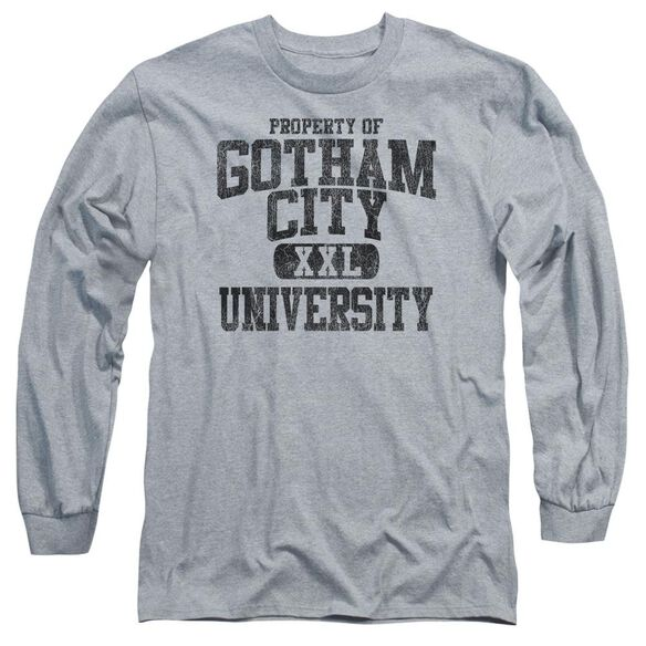 Batman Property Of Gcu Long Sleeve Adult Athletic T-Shirt