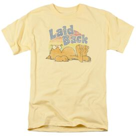 Garfield Rad Garfield Short Sleeve Adult Banana T-Shirt