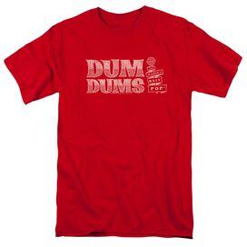 Dum Dums Worlds Best Short Sleeve Adult T-Shirt