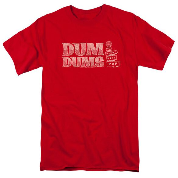 Dum Dums Worlds Best Short Sleeve Adult T-Shirt