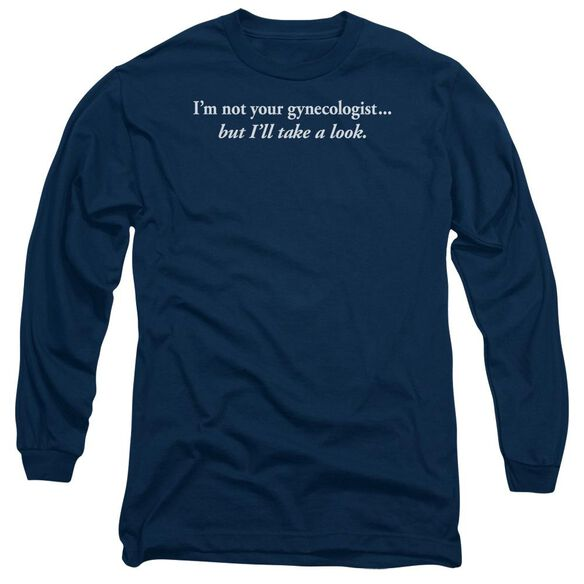 Gynecologist Long Sleeve Adult T-Shirt