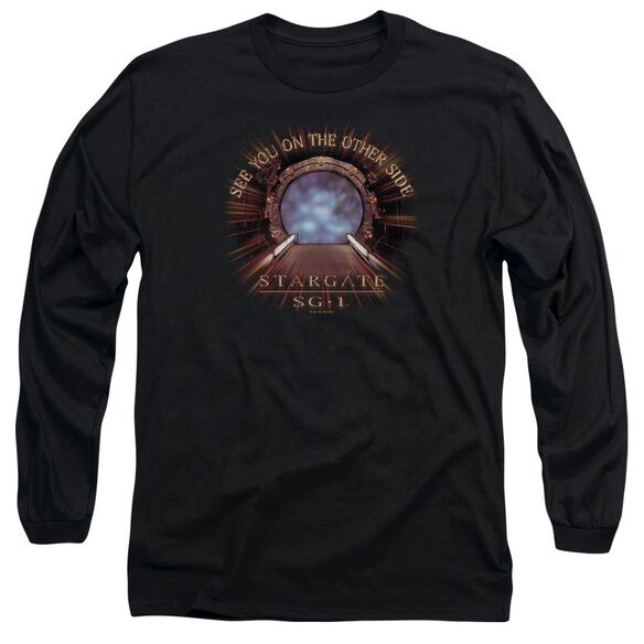 Sg1 Other Side Long Sleeve Adult T-Shirt