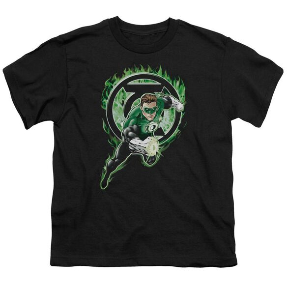 Green Lantern Space Cop Short Sleeve Youth T-Shirt