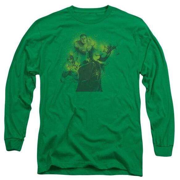 Dco Spray Sketch League Long Sleeve Adult Kelly T-Shirt