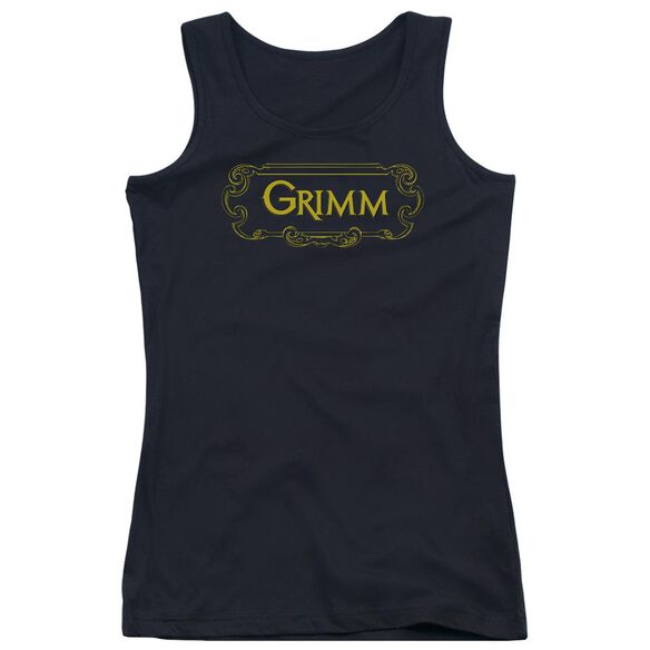 Grimm Plaque Logo Juniors Tank Top