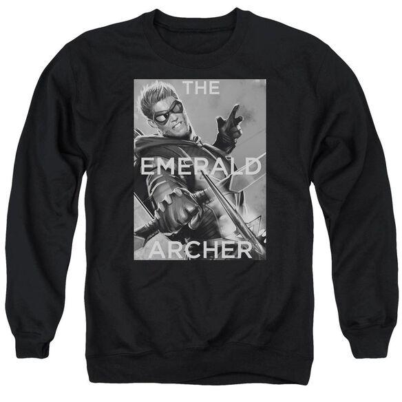 Jla Trigger Adult Crewneck Sweatshirt