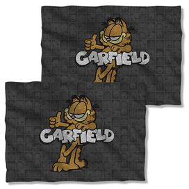 Garfield Retro (Front Back Print) Pillow Case White