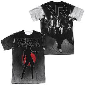 Velvet Revolver Contraband Sub (Front Back Print) Short Sleeve Adult Poly Crew T-Shirt