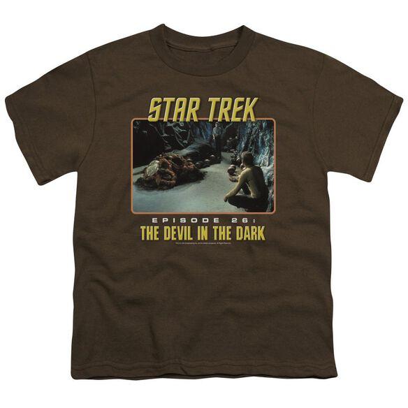 St Original The Devil In The Dark Short Sleeve Youth T-Shirt