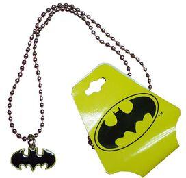 Batman Edged Logo Necklace