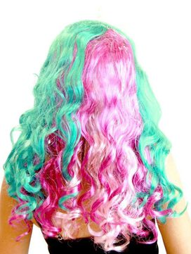 Princess Deluxe Pony Wig