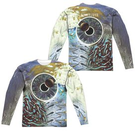 Pink Floyd Pulse (Front Back Print) Long Sleeve Adult Poly Crew T-Shirt
