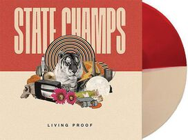 State Champs - Living Proof [Exclusive Half Red/Half Cream Colored Vinyl]