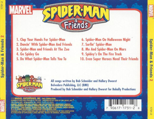 Spiderman And Friends 2